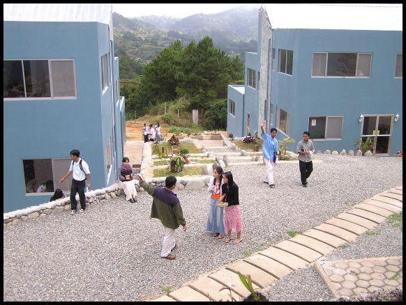 Students in Plaza